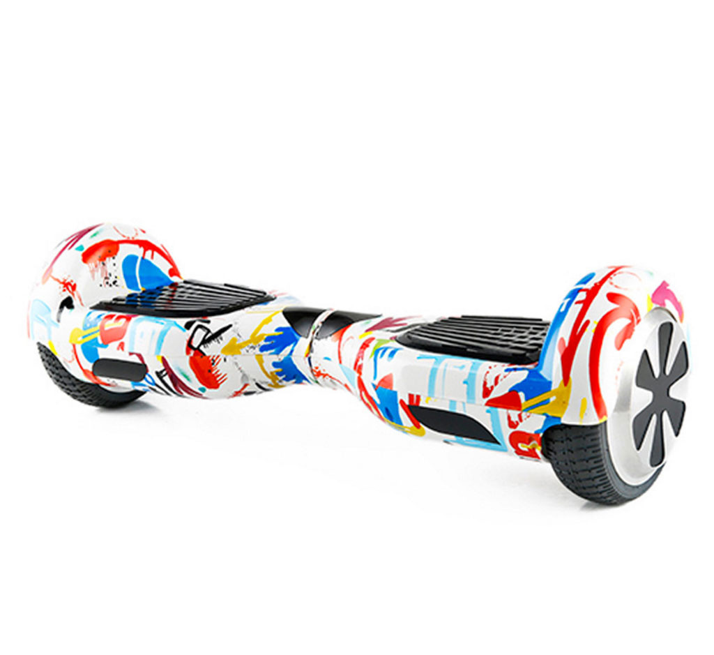 "Hoverboard EcoWheel 6,5"" standard s Bluetooth - crazy"