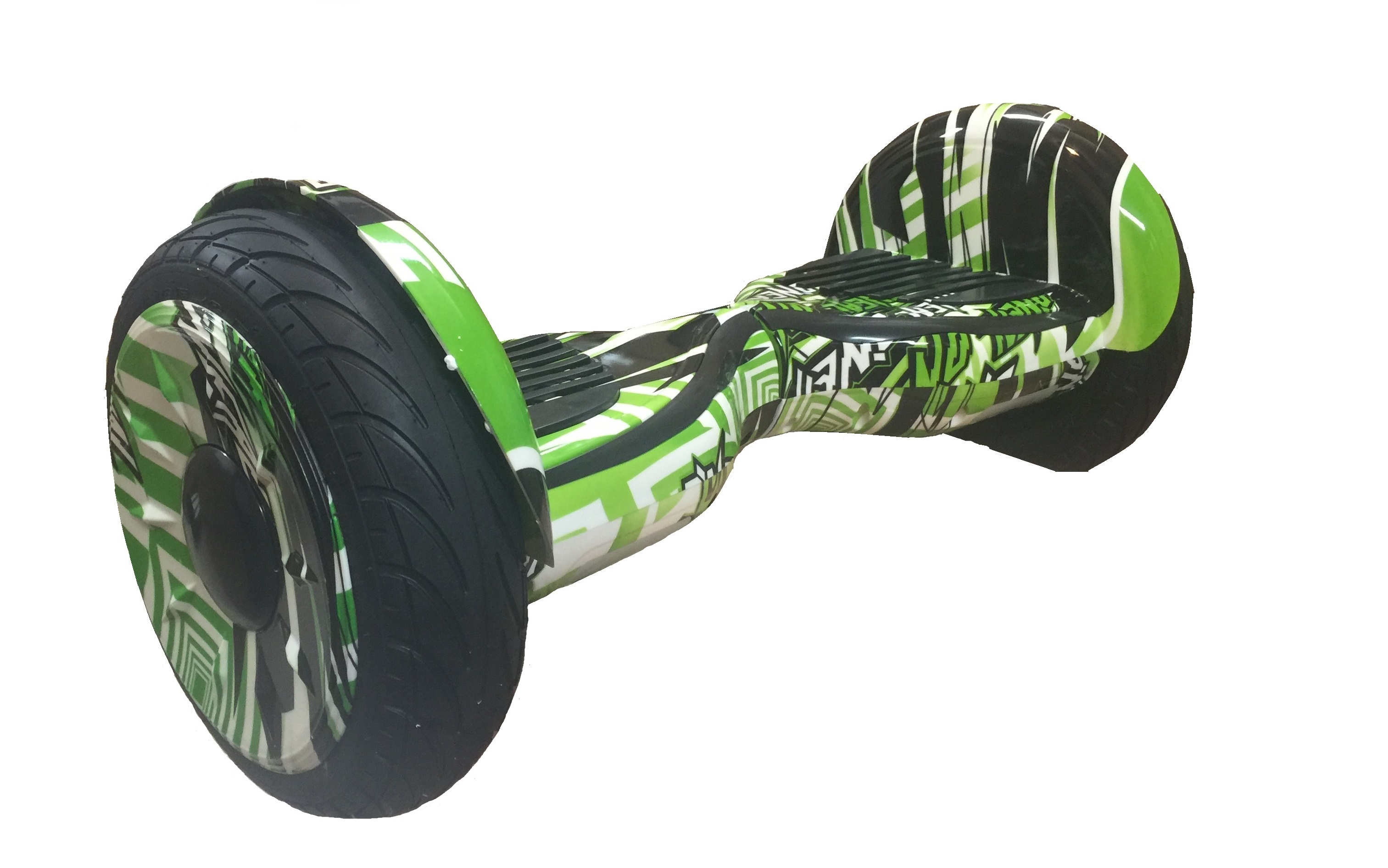 "Hoverboard EcoWheel 10,5"" Cross  - green graffity"